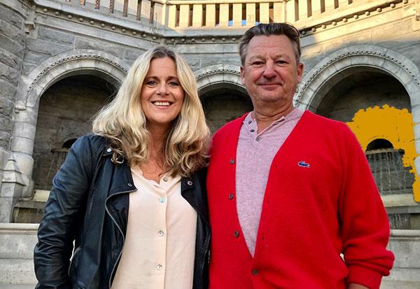 Gunilla Backman och Anders Ekborg