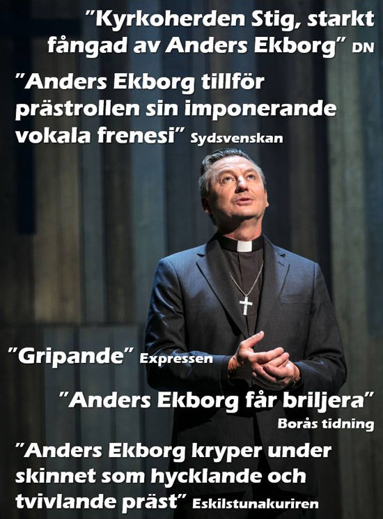 Recensioner om Anders rollprestation i Så som i himmelen