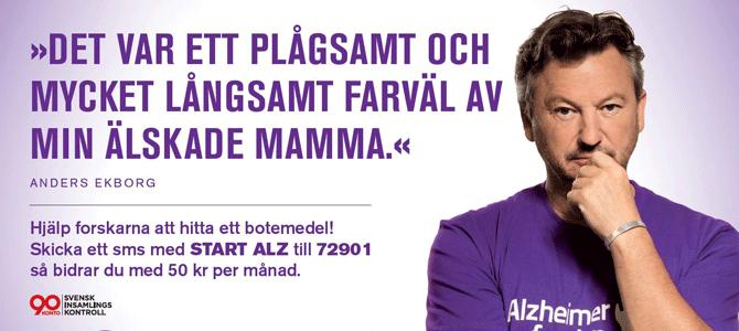 Ambassadör för Alzheimerfonden